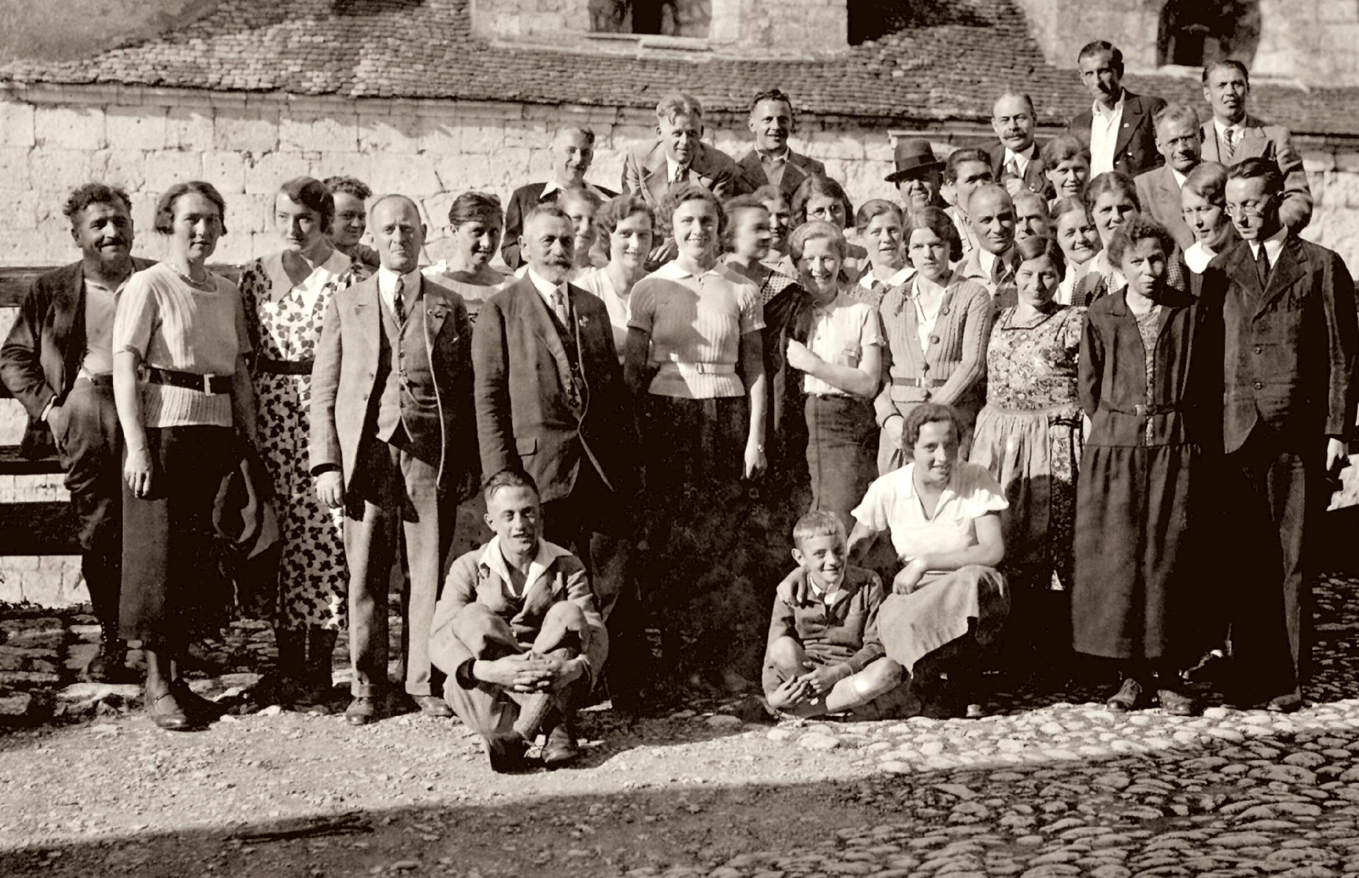 Chorausflug Burg Wildenstein Sigmaringen 1928