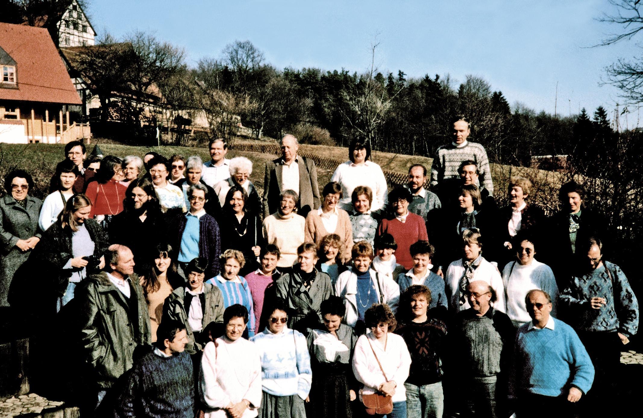 Chorwochenende in Prackenfels%20 1988
