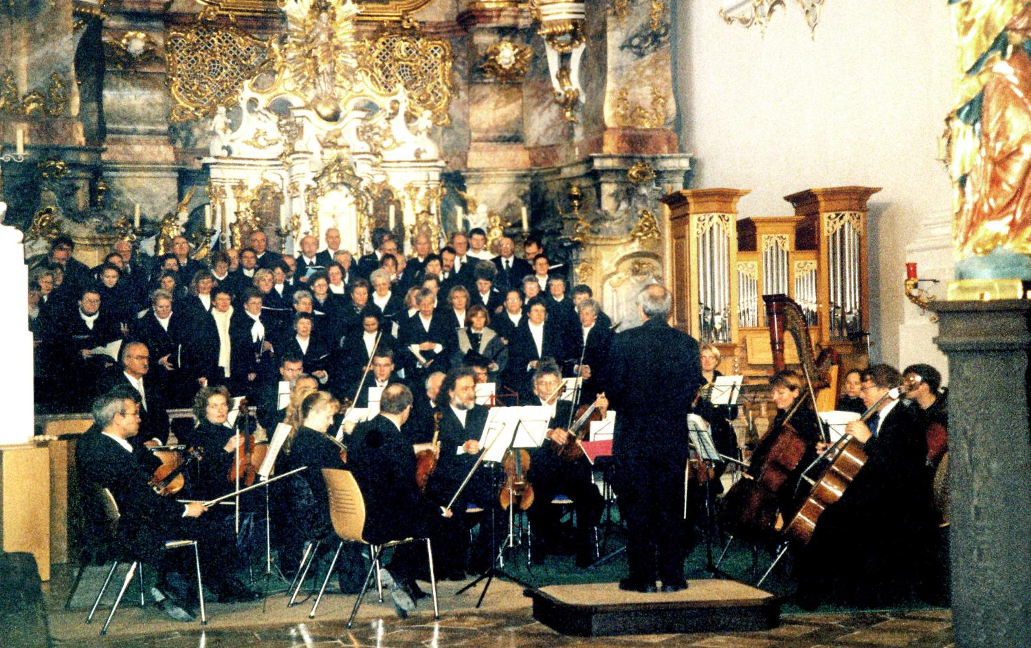 Fauré-Requiem in Roggenburg 2000
